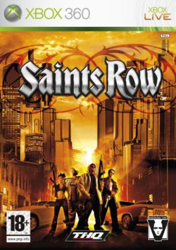 Saints Row Box Art
